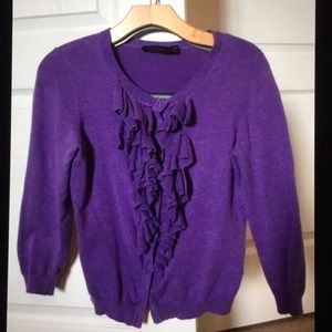 Pre-owned- The Limited Purple Sweater